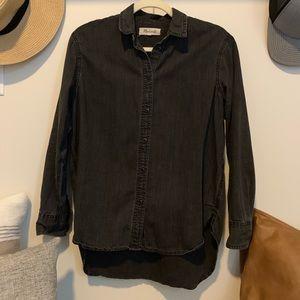Madewell Denim Shirt - Black